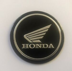 5.5cm Round Wing Emblem Aluminium Metal Badge Sticker For Honda Motorcycle
