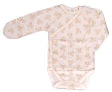 Body de naissance, beige à motif, bébé mixte, 100% coton, taille 3 mois
