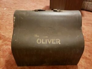 Antique Oliver The Printype Batwing Typewriter TOP COVER FOR  CASE ONLY
