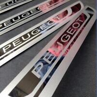 Pour Peugeot Accessories 208 308 2008 3008 seuil de porte Garde Acier Inoxydable