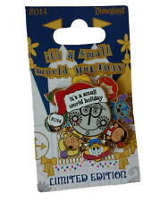 It's A Small World Holiday Disney Pin 2014 Rotating Characters LE