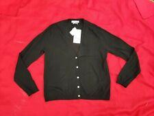 Zara women knitwear black wool cardigan  size M new