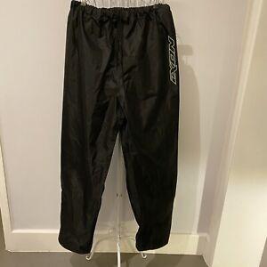 Ixon Fog Black Waterproof Motorcycle Over Pants Size XL