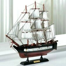 Coastal Living Wood Ship Model USS Constitution Fully Assembled
