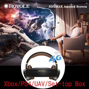 2021 4G Royole Moon IMAX 3D Virtual Reality Glasses 32G VR Theater HDMI XBOX UVA