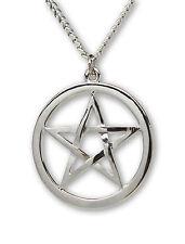 Pagan Pentacle Pentagram Wiccan Pendant Necklace NK-538