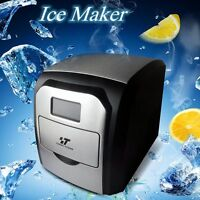 Portable Freestanding Ice Cube Machine Undercounter Free-Standing Ice Maker