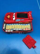 DISNEY PIXAR CARS 2 VTECH Flash McQueen ORDINATEUR EDUCATIF GENIUS POCKET - TBE
