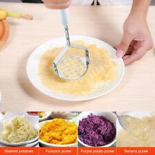 Hot Potato Egg Masher Vegetable Fruit Crusher Tools Kitchen Stainless Steel -RY9