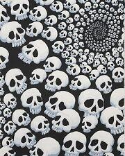 Alexander Henry skullfinity Skull Black Fabric