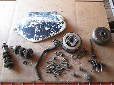 1983 Honda XL200 Shift Forks Flywheel Clutch Oil Dipstick Kick Pedal Parts Lot