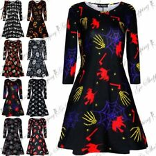 Viscose Long Sleeve Dresses for Women with Smocked