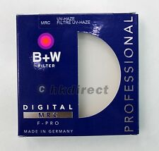 B+W 49 mm UV-Haze MRC 010M Multi-Coated Brass F-PRO 49mm  Filter, Free Shipping