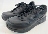 NWOB NEW BALANCE 928 V3 MW928BK3 Mens Black Low Top Walking Comfort Size 10 4E