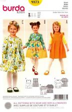 Burda Sewing Pattern 9373 Burda Kids Dress Sizes 18M-6