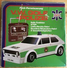 TAIYO 8000 Funk-Fernsteuerung Polizei VW Golf 80er-Jahre - voll funktionsfähig!