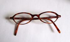Vintage Ralph Lauren Tortoise Shell Eyeglasses Oval 90s Italy Italian Cat eye