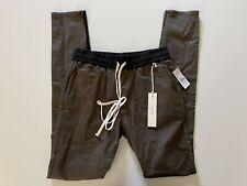 NWT FOG Essentials Drawstring Casual Pant Joggers ZIP Skinny Leg Men's SZ Medium