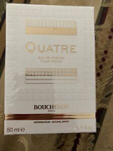 Boucheron QUATRE Eau De Parfum Spray Duft 50ml OVP