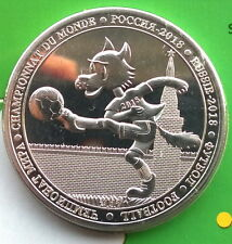 Burkina Faso 2018 Russia World Cup 100 Francs Crown Coin,BU,Mint Pack