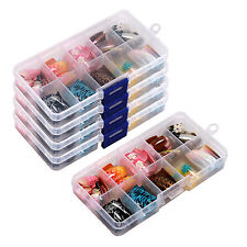 Set of One Box(100pcs) False Acrylic Gel French Nail Art Tips Salon Random Color