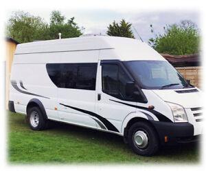Camper van Motor home graphics kit fits SWB MWB and LWB vans