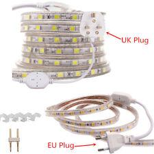 LED Strip 220V 240V IP65 Waterproof 5050 SMD Rope Garden Decking Kitchen Lights