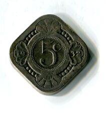 5 Cents Niederlande 1932 Königin Wilhelmina M_721