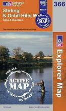 Stirling and Ochil Hills - OS Explorer ACTIVE Map 366(NEW 2006 folded sheet map)