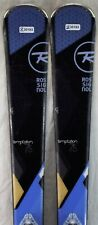15-16 Rossignol Temptation 75 Used Women's Demo Skis w/Binding Size152cm #230193