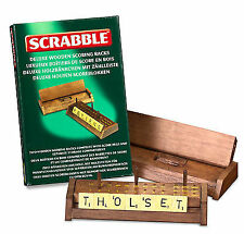 Wooden Scrabble Board & Traditional Games