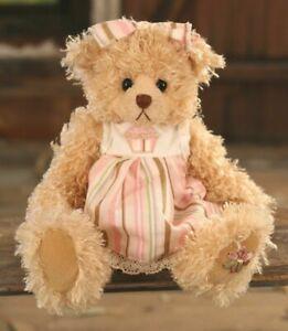 "SETTLER BEARS ATHERTON COLLECTION BRENDA 10"" SOFT PLUSH TEDDY BEAR - BNWT"