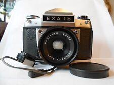 EXA 1b + Domiplan auto 2,8/50  Spiegelreflexkamera Kamera