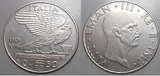 50 CENTESIMI IMPERO 1939 XVII - NON MAGNETICA