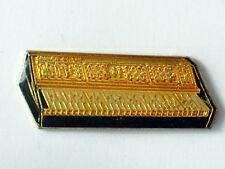 Crunar Keyboard Lapel Pin (lg) Gold