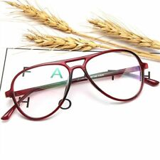 Women Men  Oversize Spectacles Frames Eyeglass Solid Pattern Fashionable Glasses