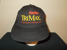 VTG-1990s Berkley Trimax TriPolymer Fishing Line Mesh MADE USA hat sku10