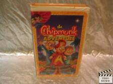 The Chipmunk Adventure VHS Animated