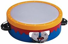 "Hohner Kids / 6"" Multicolored Tamborine (Colors May Vary), S601C"