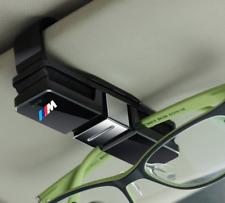 BMW Msport Car Sunglasses Glasses Holder Car Interior Accessory Visor Case Black