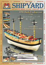 Shipyard 33: HM Bark Endeavour 1:96