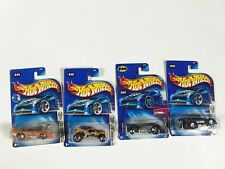 Lot of 4 Hot Wheels Mixed Assorted Carded Cars 2000's 1st edition GTO Judge