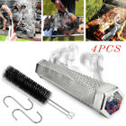 """12"""" Stainless Steel Outdoor Wood Pellet Grill Smoker Filter Tube Pipe Smoke BBQ photo"""