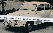 DKW-AUTO UNION-GRIGIA-per 1955-RAR J 21-16