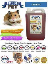 5L FRESH-PET CHERRY - Rodent Specialist Disinfectant Rabbit Hutch Cage Runs