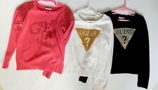 LOT OF 3 GUESS SWEATER'S KIDS/CHILD BLOUSE'S SIZE 6 GIRL