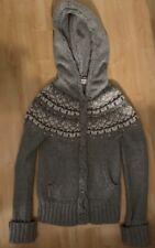 Hermione Granger Grey Fairisle Zara Cardigan Wool Jacket Harry Potter Cosplay