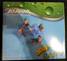 Aviva Rave Sports Ahh-Qua Bar - Inflatable Floating Bar with 4 seats  NO RESERVE