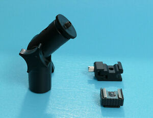 Adjustable joint for lighting stand with 2 flashlite mounts