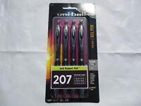 uni-ball Signo Gel 207 Retractable Gel Pens, $8.49, Black Ink, 0.7 mm, Pack Of 4
